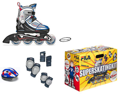 patines infantiles pack
