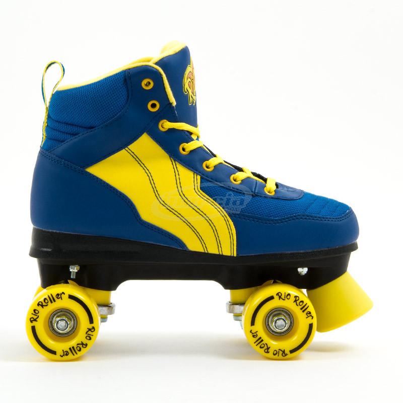 quad rio roller pure azul amarillo s patines quad ni o. Black Bedroom Furniture Sets. Home Design Ideas