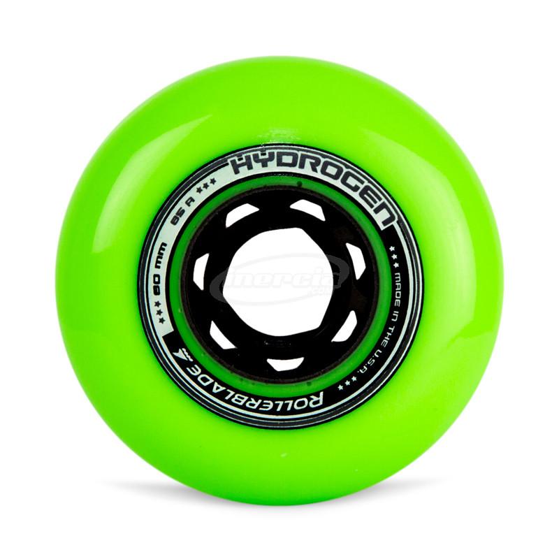 Rollerblade Pack 8 Ruedas Hydrogen 80mm 85A Azul Petroleo