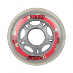 KIT RUEDAS 72mm 82A BLACK RED