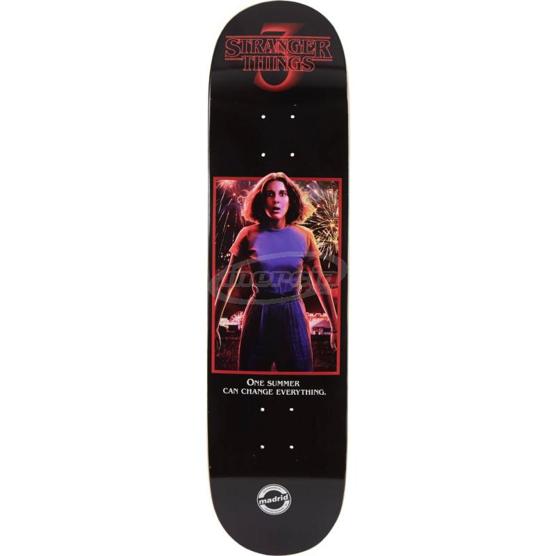 8 - Eleven Madrid Stranger Things 3 Tabla Skateboard