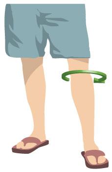 Medida de rodilla