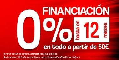 Financia tus compras en Inercia sin pagar intereses