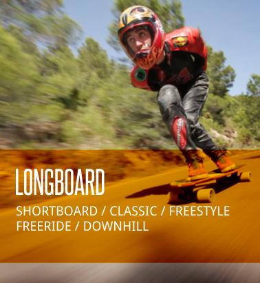 Sección Longboard